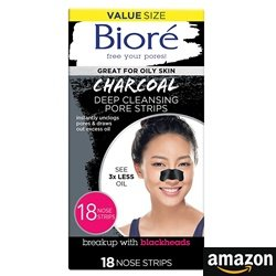 Biore Charcoal, Deep Cleansing Pore Strips